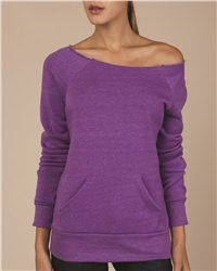Alternative open Neck with Pocket Sweatshirt - Comes in different