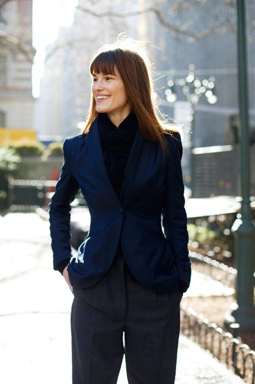 On the Street&&Tailored Fit, NYC The Sartorialist