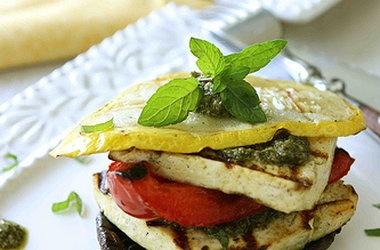 Grilled Salmon Sandwiches With Pesto Avocado Spread & A ...