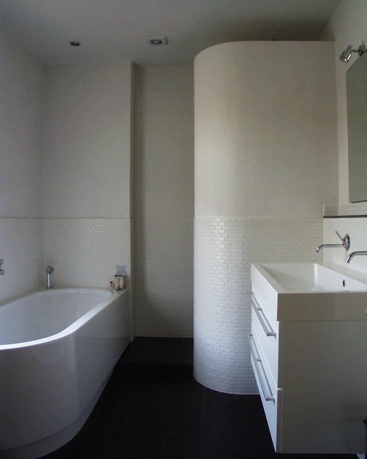 Mooie Wastafels Badkamer ~   design en lambrizering van tegels Badkamer idee?n  Bathroom ideas