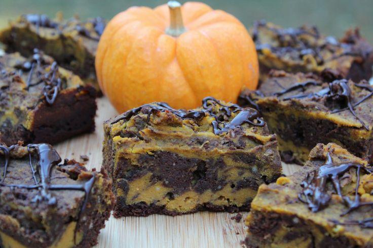Pumpkin Swirl Brownies @PidgesPantry | Truths | Pinterest