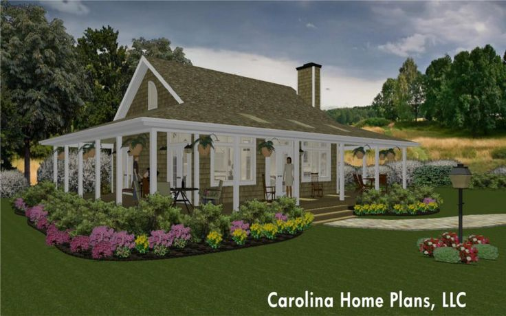 Small Country Cottage Home Plan Small Is Great Pinterest