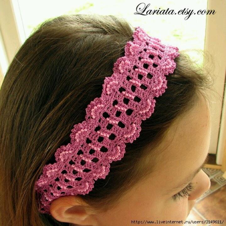 Crochet Hair Bands : Hair band