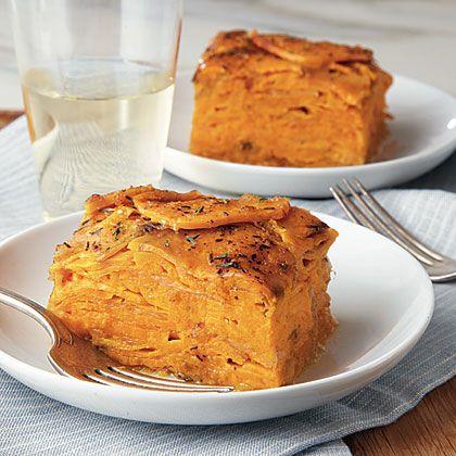 Sweet Potato Gratin | Recipe
