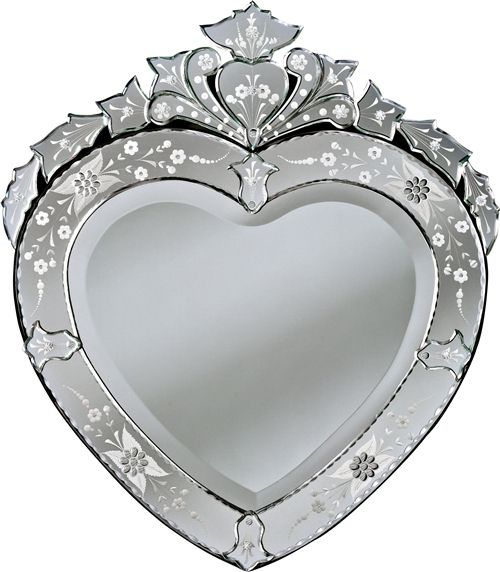 Venetian Heart Gems Corazon Mirror. | Goodies for the Home! | Pintere ...