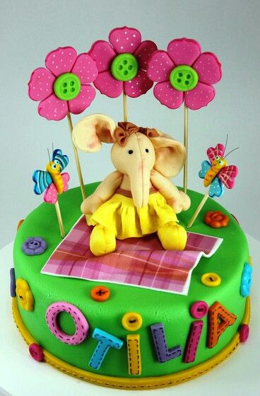 Cake Images For Children S : Pin by Leonor on Cakes for children.. Pinterest