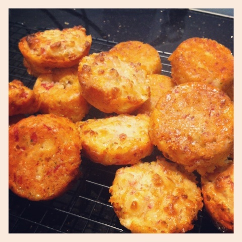This is Taryn: My Super Crunchy Ham and Cheese Muffins