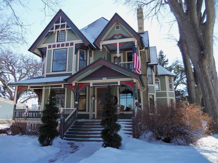 Queen Anne Fond Du Lac WI George F Barber 369 900 Old House