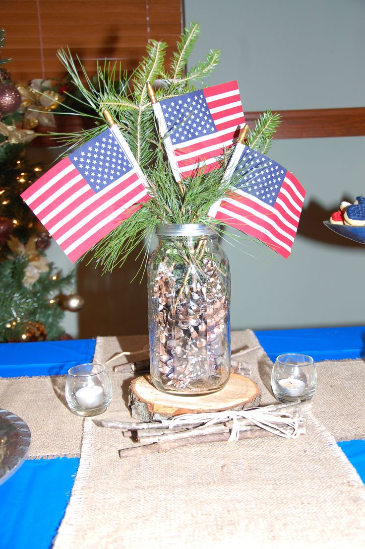foto de Centerpiece for Eagle Scouts Ceremony eagle scouts