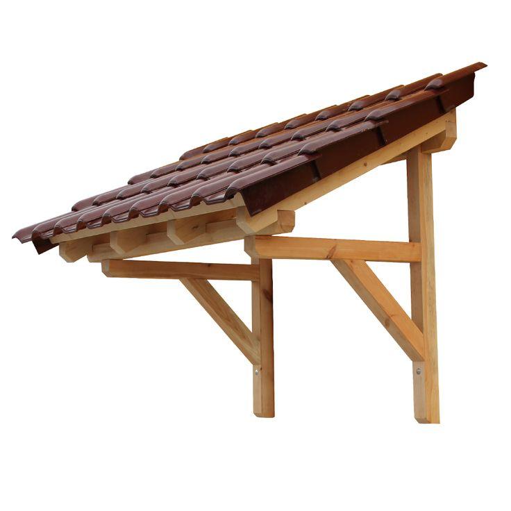 Wood Door Canopy Images