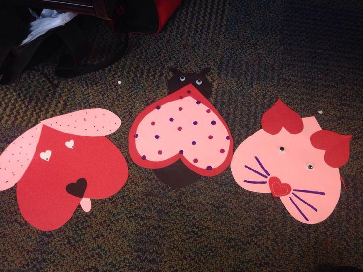 valentine's day art class