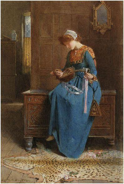 The Mandolin Player - Carlton Alfred Smith