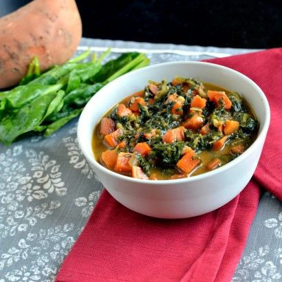 Peanut, Sweet Potato and Spinach Stew | Tasty Kitchen: A Happy Recipe ...