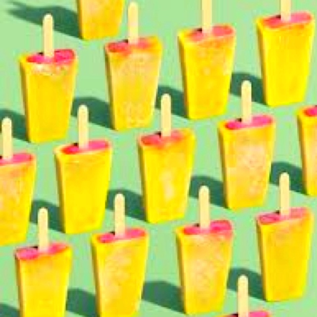 Spicy Mango Ice Pops Recipe — Dishmaps