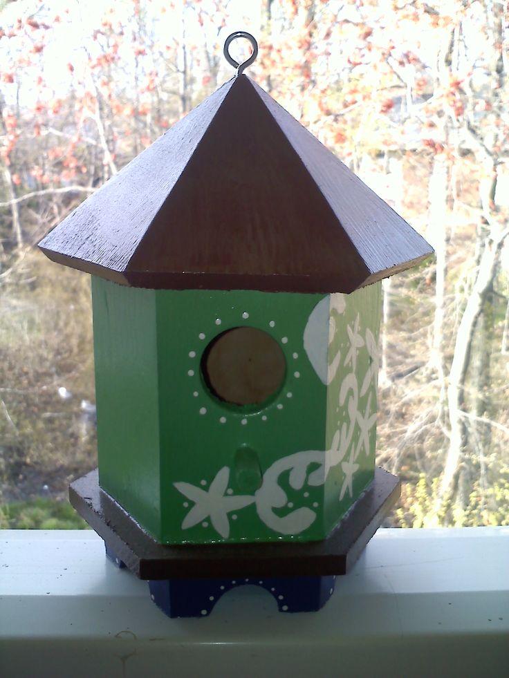 Painted bird house inspiring ideas pinterest - Bird house painting ideas ...