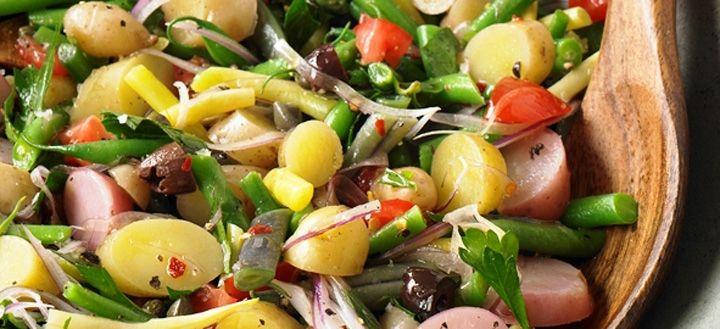 Three-Color Potato Salad | Earthbound Farm Organic