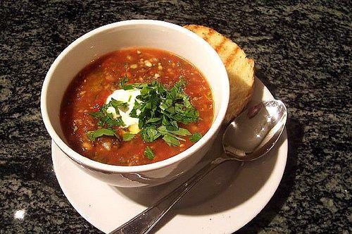 Spicy Tomato Gazpacho   Soup Recipes   Pinterest