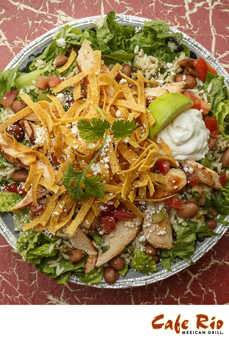 Grilled Chicken Tostada   Recipes to try   Pinterest