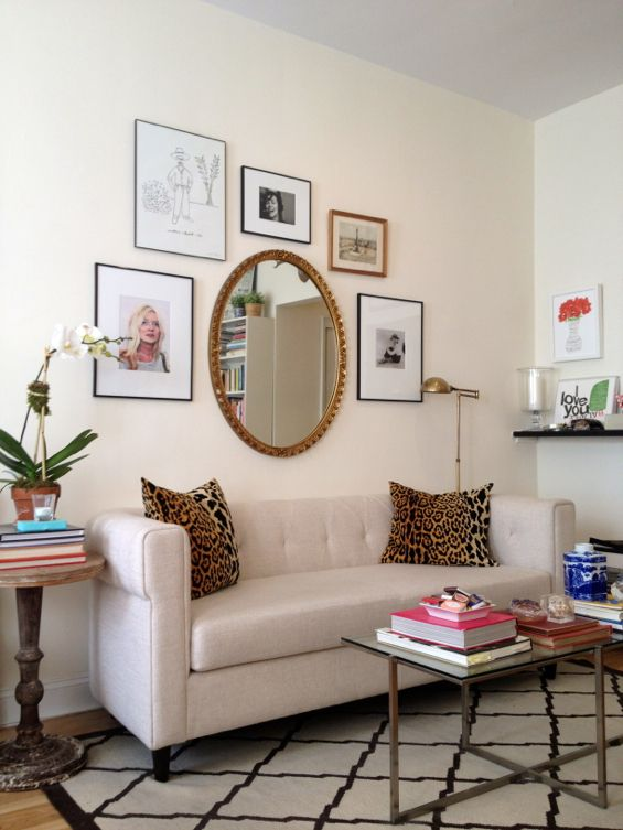Gallery Wall With Mirror Decor Inspiration Pinterest
