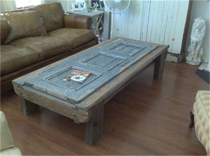 Antique Door Coffee Table De Casa Pinterest