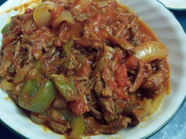 Cuban Flank Steak and Pepper Stew | food | Pinterest