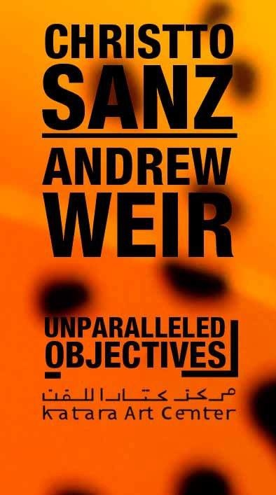 We have the pleasure to invite you to the opening of the exhibition Unparalleled Objectives by the artist duo Christto Sanz and Andrew Weir, on May 5 at 7:00pm, with the presence of the artists.