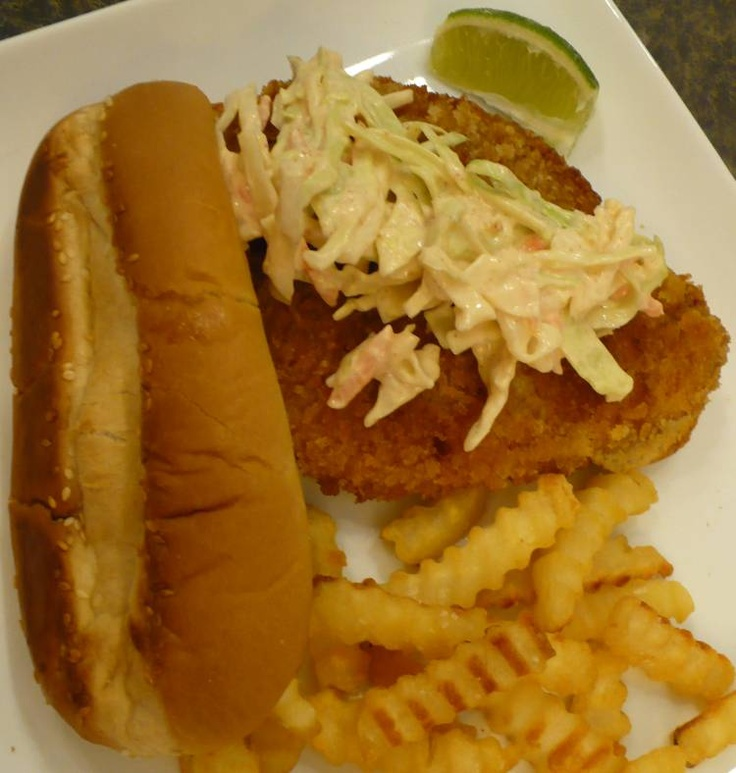 Crispy Swai Fish Sandwiches | there's a party in my tummy | Pinterest