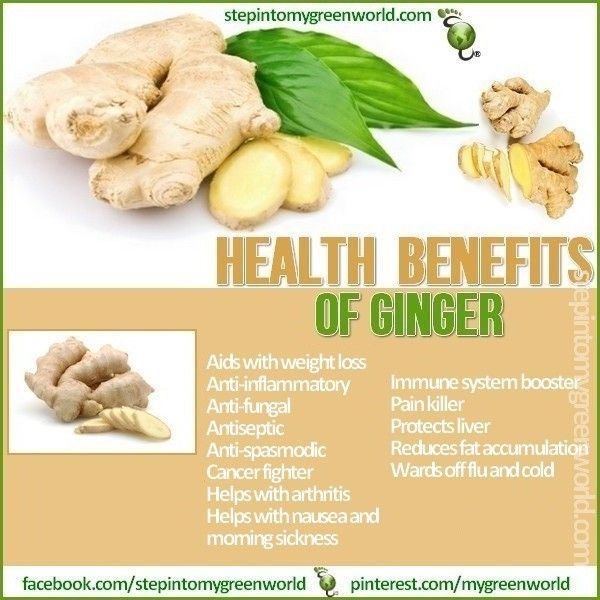 Ginger - The World's Healthiest Foods