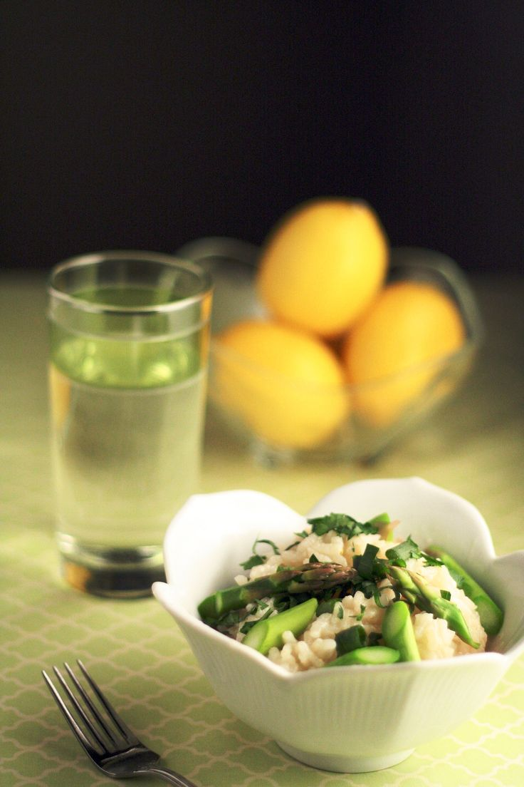 Lemon Asparagus Risotto | Recipes | Pinterest