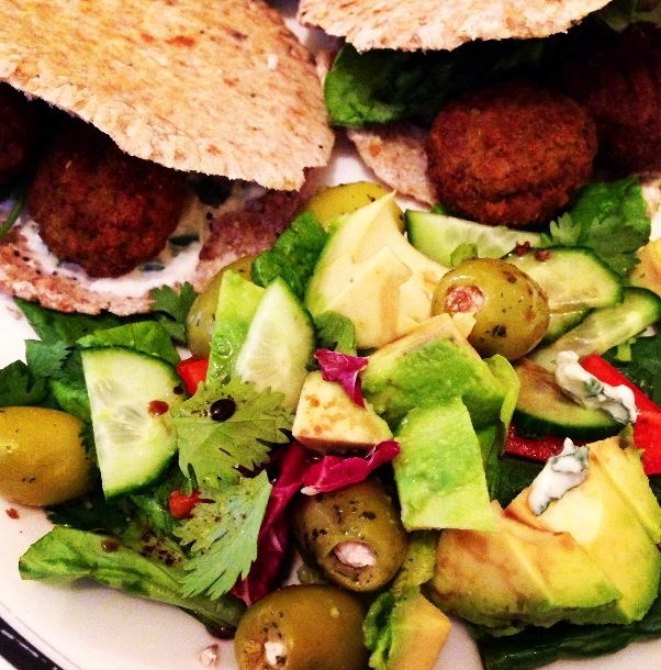 world s easiest world s easiest falafel and tzatziki recipe dishmaps ...