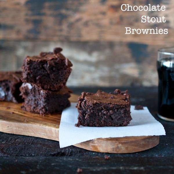 Chocolate Stout Brownies | Fat Fanny Food | Pinterest