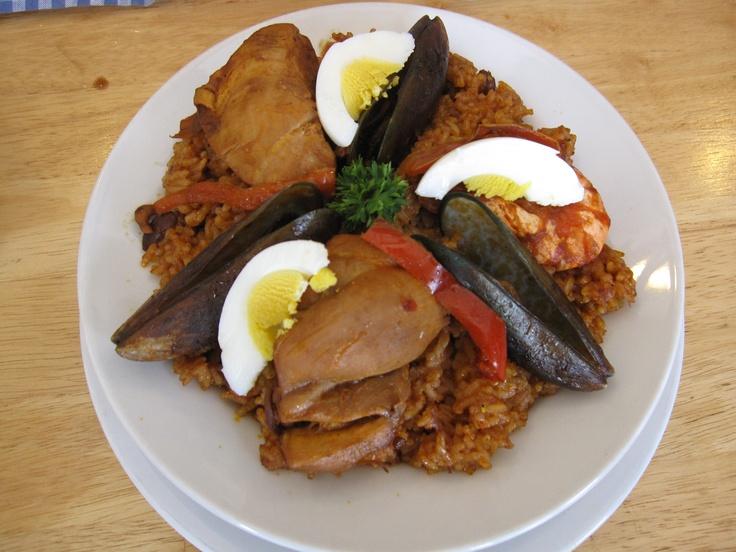 Rice With Chorizo, Shrimp, And Green Olives Recipes — Dishmaps