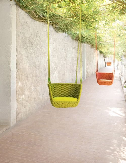 Outdoor indoor basket swing for adults space stuff for Banca columpio para jardin