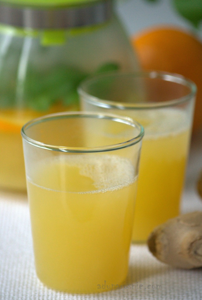 Winter citrus-ginger drink | Cocktails, anyone? | Pinterest