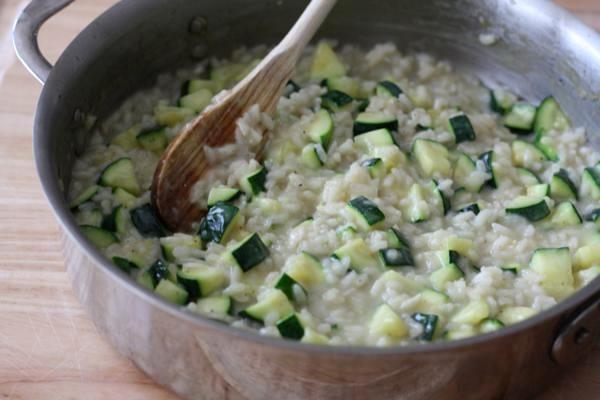 zucchini risotto | L'Alimento | Pinterest