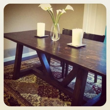 Diy kitchen table home and decor pinterest - Building kitchen table ...