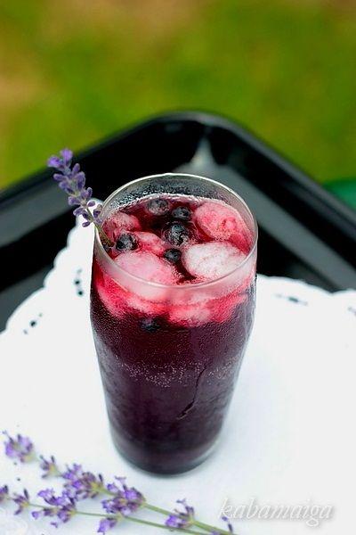 Blueberry Lavender Vodka Spritzer | Beverages | Pinterest