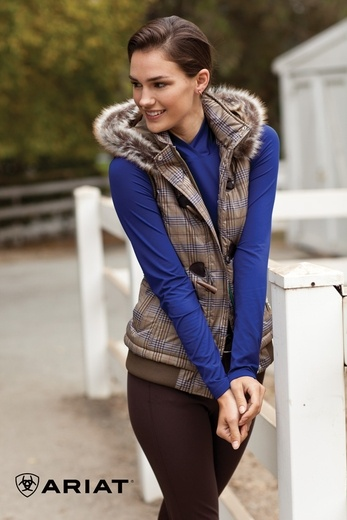 Ariat Hadley Vest. Perfect color and weight for fall...