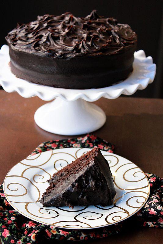 Devil's Food Cake | Desserts | Pinterest