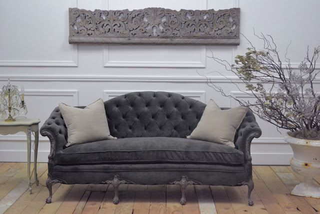 ♅ Dove Gray Home Decor ♅    Jeanne d'Arc Living - French style with Nordic palette