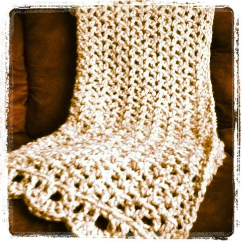 Quick Crochet : Quick crochet throw!! knit & crochet Pinterest