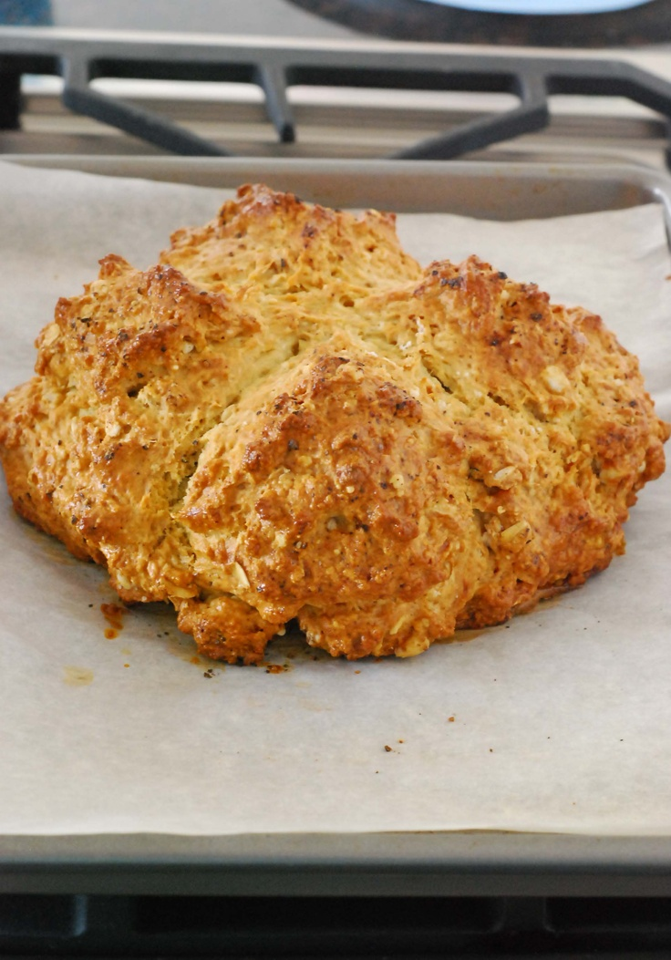 brown butter irish soda bread | St. Paddy's Day | Pinterest