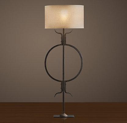 restoration hardware floor lamp home accessories pinterest. Black Bedroom Furniture Sets. Home Design Ideas