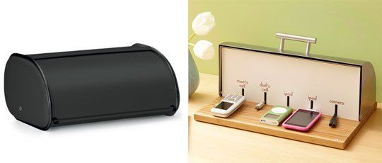 The Breadbox Charging Station For The Whole Family