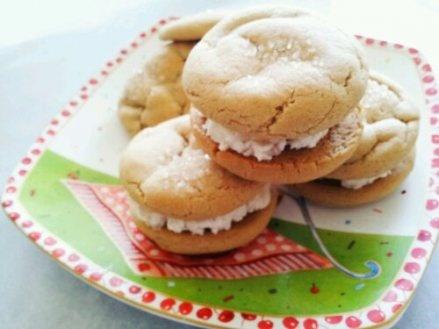 Brown sugar cookie ice cream sandwiches | Sandwich Cookies | Pinterest