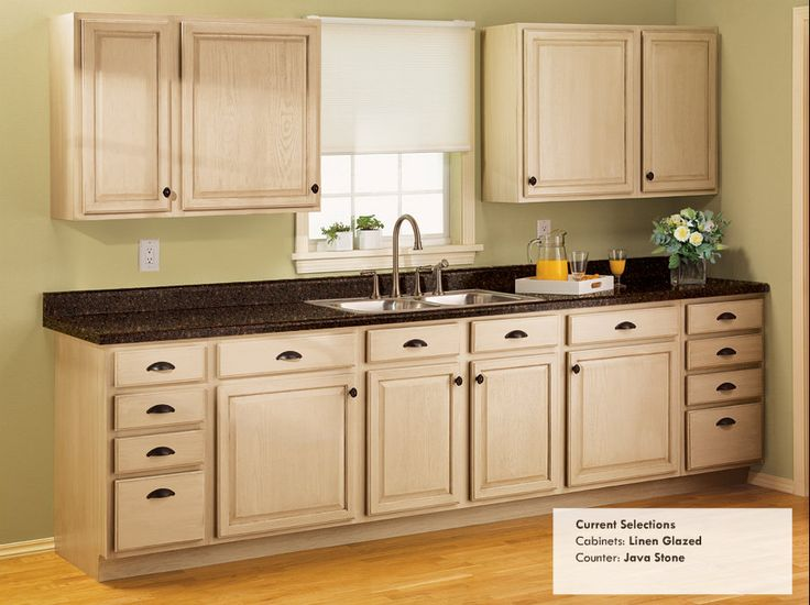 Rust oleum linen glazed cabinets java stone countertops for Ce kitchen cabinets