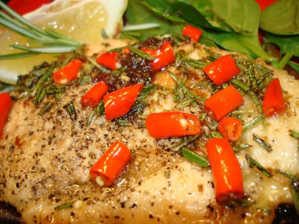 Chicken With Garlic, Chilli, Bay Leaves and Rosemary | Recipe
