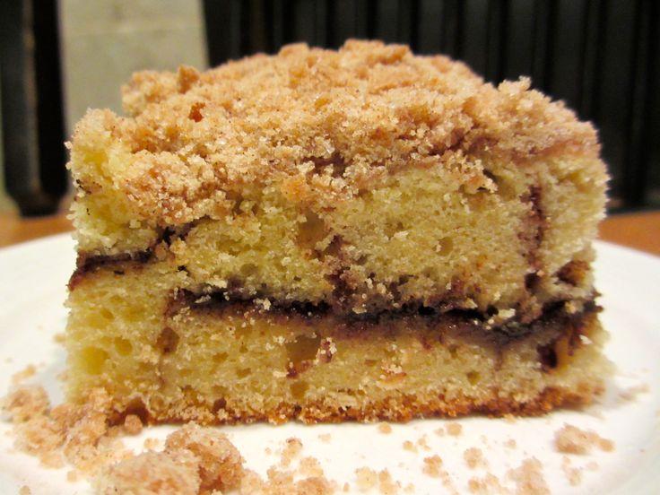 Extra Crumb Cinnamon Swirl Coffee Cake!! | DREAMING | Pinterest