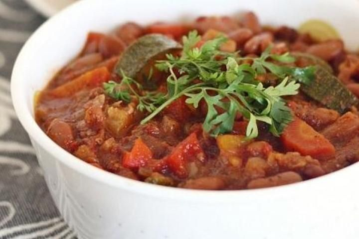 Summer Vegetarian Chili   veg out   Pinterest