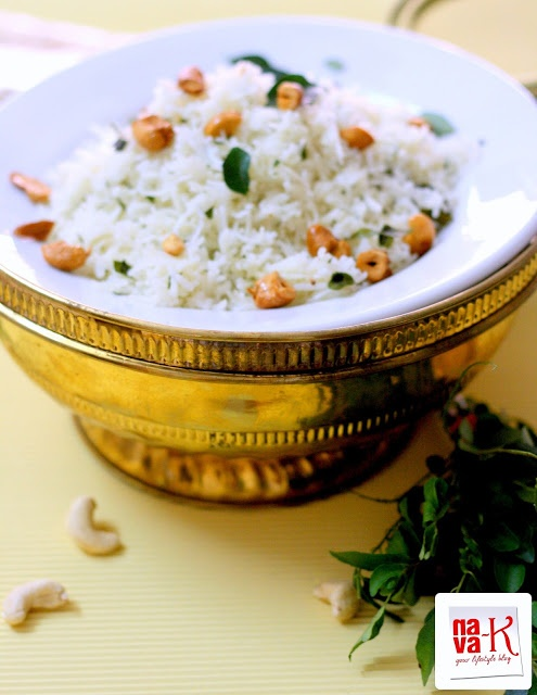 Curry Leaf & Cashew Nut Rice | Food & Cooking | Pinterest